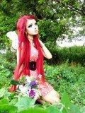 Anime fan Anastasiya Shpagina has transformed herself into a living cartoon character