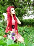 Anime fan Anastasiya Shpagina has transformed herself into a living cartoon character