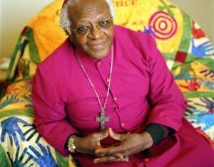 Archbishop Desmond Tutu has said that Tony Blair and George W. Bush should be taken to the International Criminal Court in The Hague over the Iraq war