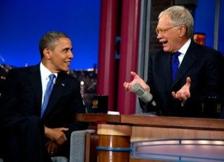 Barack Obama told David Letterman that Mitt Romney was wrong to describe 47 percent of Americans as victims