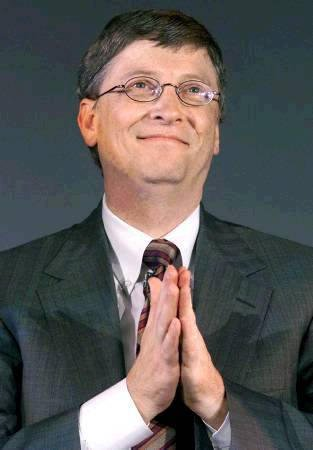 Bill Gates has been listed by Forbes magazine as the wealthiest American for the 19th year in a row