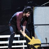 Billie Joe Armstrong stormed off stage at the iHeartRadio festival in Las Vegas ending Green Day set