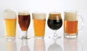 British researchers at the University of Bristol believe the shape of beer glasses affects the speed people drink