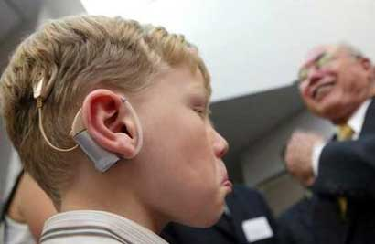 British researchers say they have taken a huge step forward in treating deafness after stem cells were used to restore hearing in animals for the first time