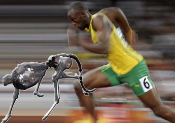 Cheetah robot has set a new world speed record for legged robots, running faster than Usain Bolt