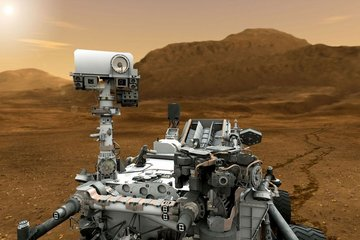 Curiosity rover has measured the Red Planets atmospheric composition photo