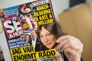 Danish magazine Se Og Hor has published photographs of Kate Middleton changing her bikini bottom