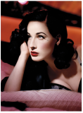 Dita Von Teese says an alabaster skin is the perfect base for a vintage look