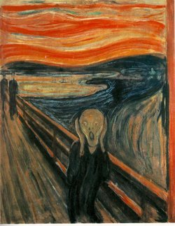 Edvard Munch's The Scream a 1895 pastel bought by an anonymous bidder in May for 120 million will go on view at MoMA for six months from 24 October photo