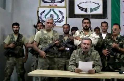 FSA has announced that it has moved its command centre from Turkey to liberated areas inside Syria photo