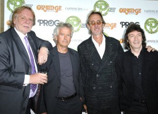 Genesis has been honored at the first Progressive Music Awards held in London, alongside other bands including Pink Floyd and Rush