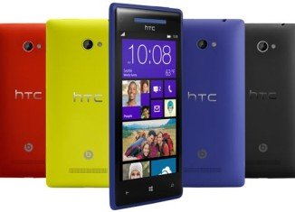 HTC has unveiled two Windows Phone 8 handsets at an event in New York
