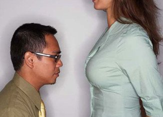 Heterosexual men are so fascinated by women's breasts thanks to a simple hormone released during nursing