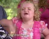 Honey Boo Boo smudges make-up as family portrait turns sour in season finale