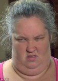 Honey Boo Boo's mother, June Shannon, showing off her Bingo face
