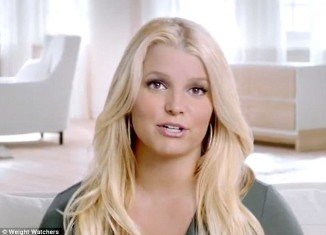 Jessica Simpson has starred in her first advert for the diet programme, filmed back in July as she got stuck into her weight loss regime