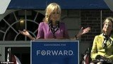 Jill Biden has accidentally cracked a joke about her husband's manhood on Friday