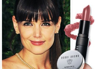 Katie Holmes has become the first ever face of Bobbi Brown Cosmetics