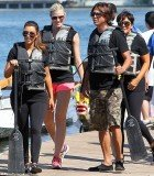 Kim Kardashian and her family prepare to compete in the Miami Dragon Boat Festival