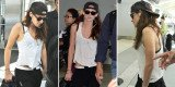 Kristen Stewart was wearing a baseball cap belonging to her estranged boyfriend Robert Pattinson as she jetted out of Toronto