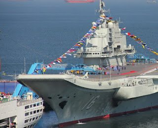 Liaoning is a refurbished Soviet ship purchased from Ukraine