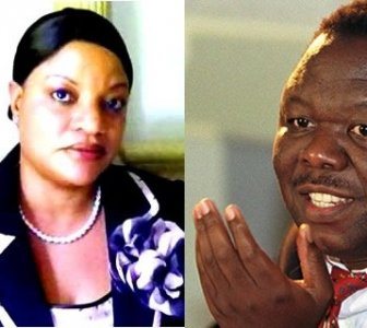 Locadia Tembo had argued that Morgan Tsvangirai's wedding could not take place because she was his wife under customary law photo