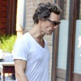 Matthew McConaughey appeared thinner than ever as he returned to his Manhattan hotel on Thursday