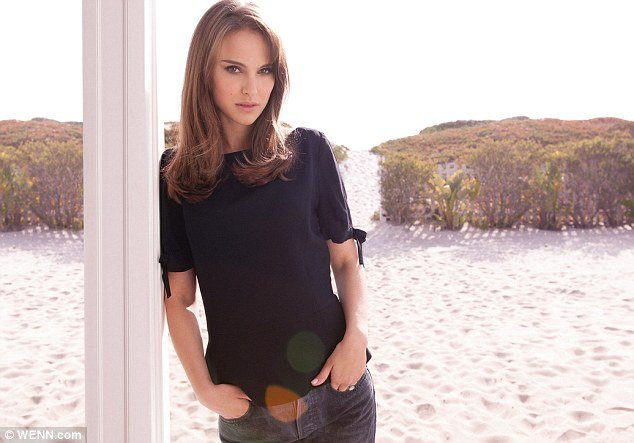 75f99e2cff8 Natalie Portman may have bared all in her previous campaigns for Christian  Dior, but she