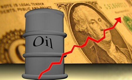 oil prices rise    session   row  fed move