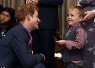 Prince Harry attended the WellChild Awards in London this afternoon in his role as Patron of the charity, which supports terminally and critically ill children in the UK
