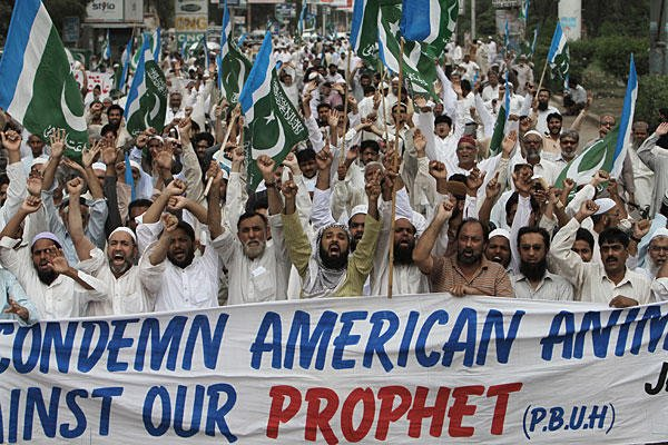 Protest against anti-Islam film Innocence of Muslims in Pakistan