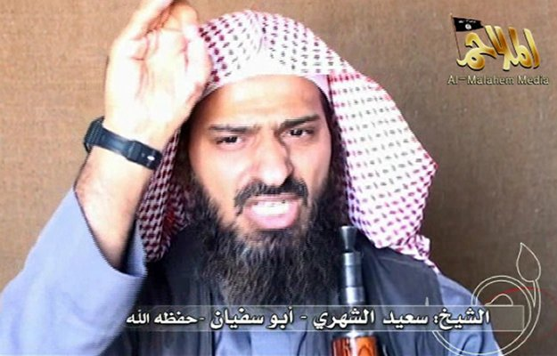 Said al-Shihri, described as the second-in-command of AQAP, has been killed in an operation in southern Yemen