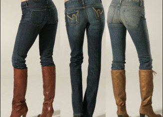 Skinny jeans have replaced thick black tights as wardrobe staples over the last 25 years