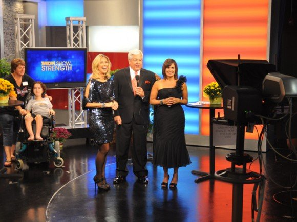 The 2012 edition of MDA Telethon now renamed the MDA Show of Strength was reduced to three hours for prime time broadcast photo