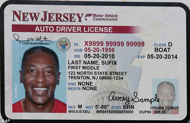 New Jersey Bans Smiling In Driver S License Photos