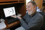 The emoticons were born on the 19th of September 1982, when Professor Scott Fahlman of Carnegie Mellon University in Pittsburgh sent an email with a sideways smiley face