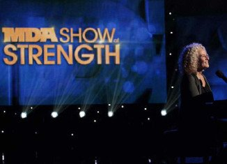 The renamed MDA Show of Strength was pre-produced and taped in Los Angeles, New York and Nashville