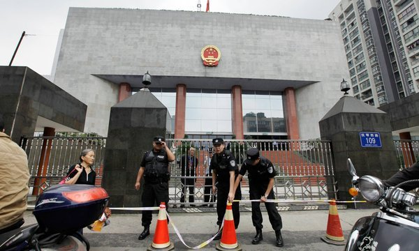 The trial of ex-police chief Wang Lijun has resumed, after it began in secret on Monday