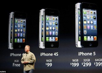 iPhone 5 will cost the same price as the iPhone 4S, $199 to $399 depending on size