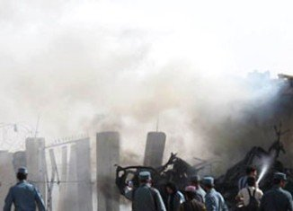 A suicide bomber has killed at least 20 people in the Afghan city of Khost