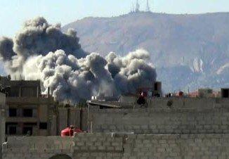 Abdullah Mahmoud al-Khalidi, a senior Syrian air force general, has been killed in a Damascus suburb