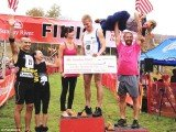 After winning the World Wife Carrying Championship in July, Taisto Miettinen and Kristina Haapanen powered through the 260-yard course in 52.58 seconds