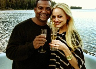 Alfonso Ribeiro has married his fiancée Angela Unkrich