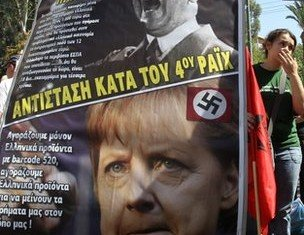 Analysts say Angela Merkel is regarded by many Greeks as the author of austerity