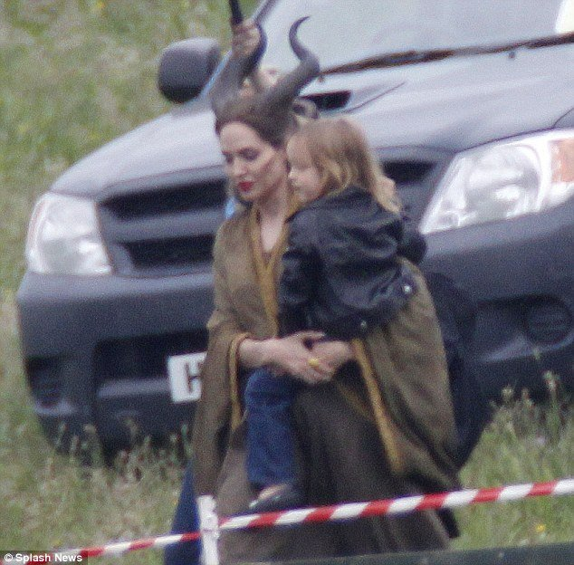 Angelina Jolie S Children Join The Cast Of Maleficent