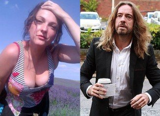 Anna Larke described the claim, made by Justin Lee Collins' defence counsel, as absolute lies
