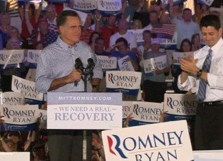 At a campaign rally in Florida, Mitt Romney said the Obama campaign had been reduced to petty attacks and silly word games