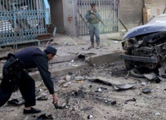 At least 37 people have been killed in a suicide bomb attack at a mosque in Maymana, northern Afghanistan