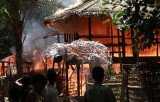 At least 56 people have been killed and hundreds of homes torched since Sunday, as clashes spread in Burma's Rakhine state