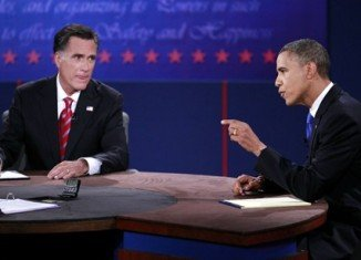 Barack Obama and his challenger Mitt Romney have battled over national security in the third and final presidential debate at Boca Raton